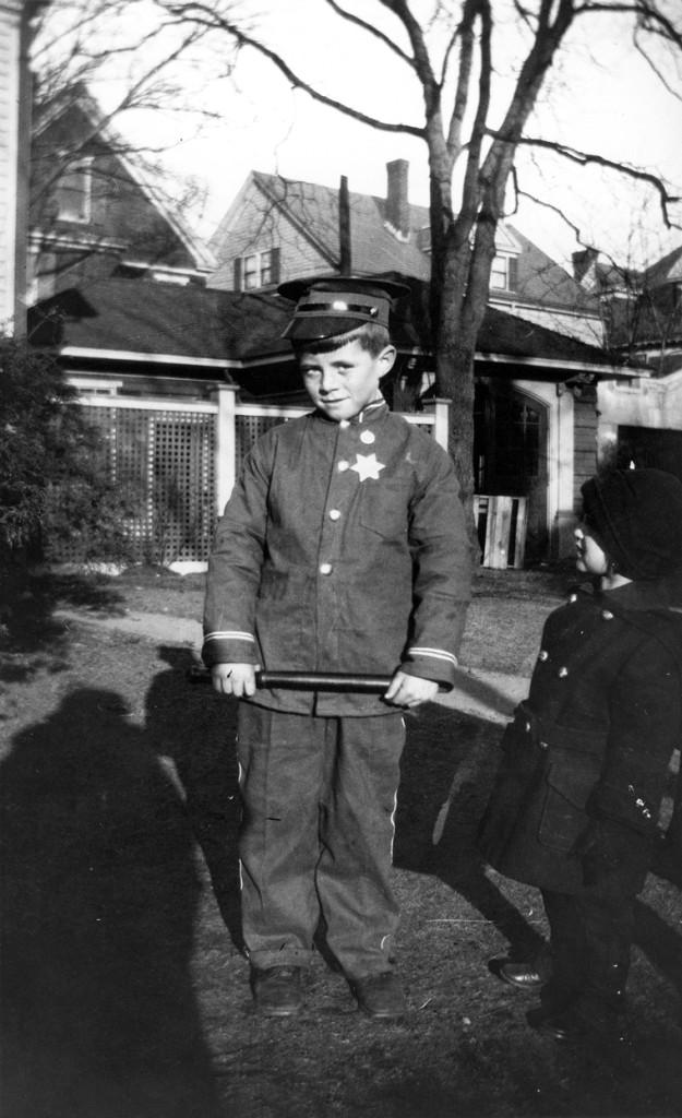 JFK John F. Kennedy Halloween costume policeman Eunice