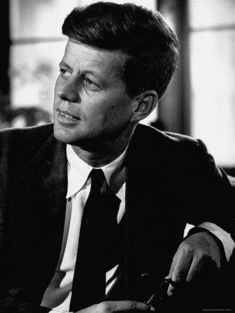 JFK as a young senator