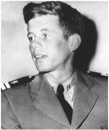 JFK John F. Kennedy 1944 Navy lieutenant