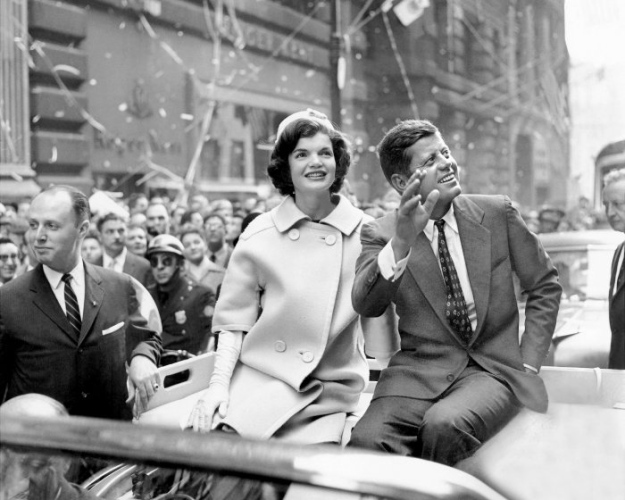 October 19, 1960 ticker tape parade john f kennedy