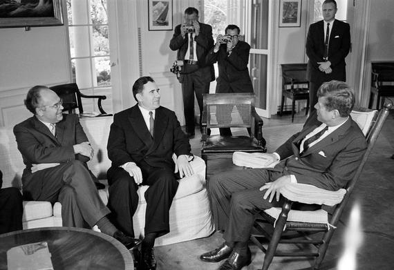 JFK Andrei Gromyko October 18, 1962