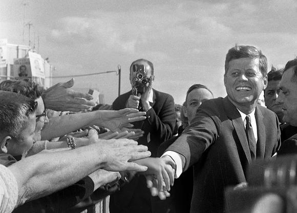 October 19, 1962 John F. Kennedy JFK Springfield Illinois