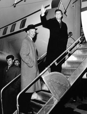 February 26, 1960 JFK Eau Claire