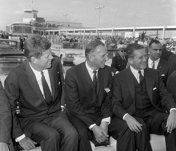 October 19, 1962 JFK John F Kennedy Springfield Illinois kerner Yates