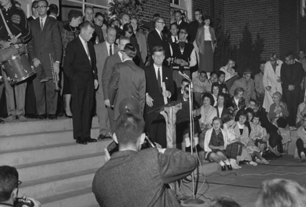 September 18, 1959 JFK Ohio University