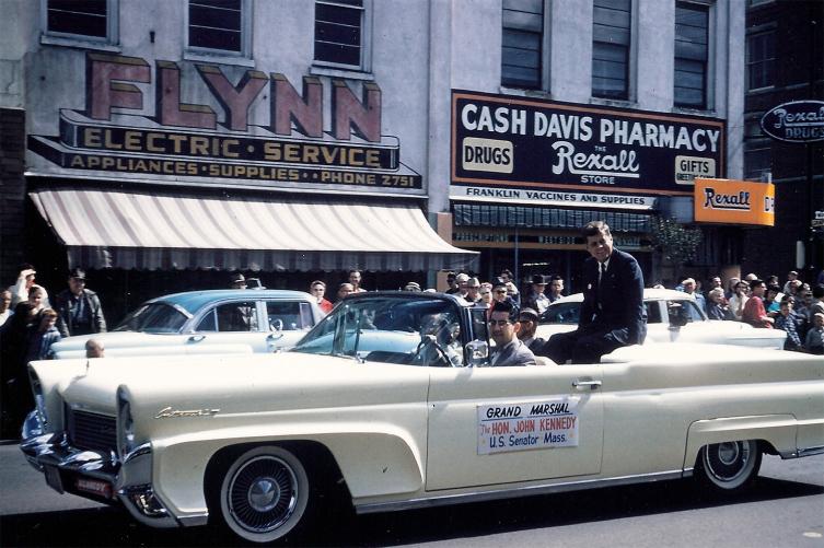 April 23, 1960 JFK Oregon