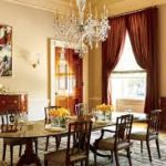 White house family dining room